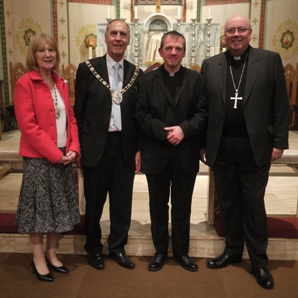 Bishop, Mayor, and Parish Priest